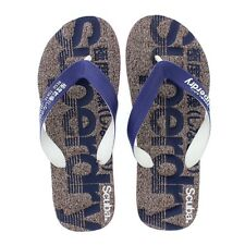 Superdry Scuba Marl Flip Flop - Port Grit-French Navy-Optic (Synthetic) Mens San