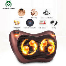 Electric Infrared Heating Kneading Neck Shoulder Back Body Spa Massage Pillow