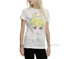 New Disney Fairies Peter Pan Watercolor Tinker Bell Tinkerbell Top T-Shirt S-M