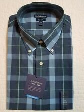 NEW MENS CROFT & BARROW CLASSIC FIT EASY CARE LONG SLEEVE DRESS SHIRT NWT