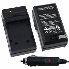 Li-50B Car Home Wall Charger Set For Olympus mju Touch 6020 8010 9000 XZ-1 XZ-10
