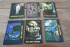6 A&BC Bubbles Outer Limits Cards from 1964! Very Rare Cards!