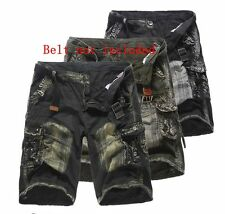 Fashion Men Summer Camouflage Pants Cargo Army Military Combat Casual Short Pant