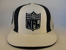 NFL Dallas Cowboys Reebok Fitted Hat Cap White Navy Gray