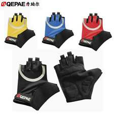 Mens / Womens Gel Cycling Gloves Fingerless Bike Bicycle Cycle Gloves 4-Colour