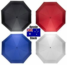 Compact Large Travel Umbrella Windproof Auto Open / Close Golf Size Ergonomic