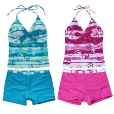 Girls Kid One Piece Bikini Swimsuit Swimwear Bathers Swimmers Bathing Size 1-14