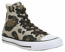 Mens Converse Converse All Star Hi VINTAGE KHAKI ANIMAL Trainers Shoes