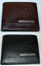 BILLABONG WALLET NEW MENS COVERT 1 FLIP black chocolate REAL LEATHER MENS SURF