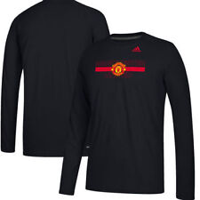Manchester United adidas Ultimate climalite Long Sleeve T-Shirt