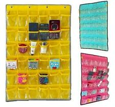 Smoothly Teach Classroom Hanging Organizer Pocket Chart for Student Phones