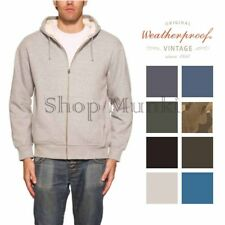 Weatherproof Vintage Mens Full Zip Sherpa Lined Fleece Jacket