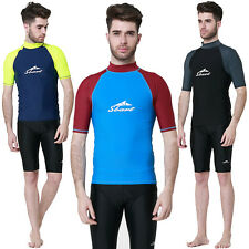 Men's Summer Fashion Scuba Snorkeling Wetsuit Rash Guard Surfing Surf Swimwear