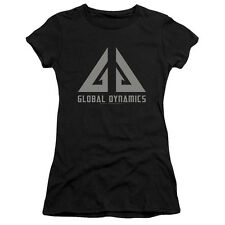 Eureka Global Dynamics Logo Juniors Short Sleeve Shirt