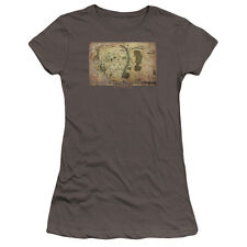 The Hobbit Middle Earth Map Juniors Premium Bella Shirt