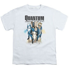Quantum And Woody Quantum And Woody Big Boys Youth Shirt White