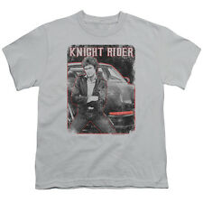 Knight Rider Knight And Kitt Big Boys Youth Shirt
