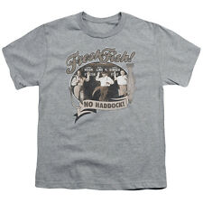 Three Stooges Fresh Fish Big Boys Youth Shirt
