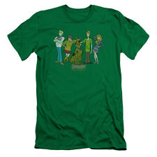 Scooby Doo Scooby Gang Mens Slim Fit Shirt