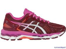 NEW Asics Gel Kayano 22 Women's Running Shoes DEEP RUBY/WHITE/PINK NEW IN BOX