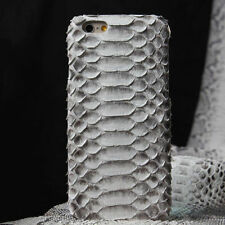Real Python Snake Skin Case for iPhone 6/6s/7 Plus Genuine Leather Back Cover