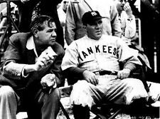 """Black and White Portrait of the Movie """"Babe Ruth Story"""" High Quality Photo"""
