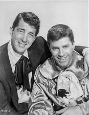 Dean Martin and Jerry Lewis smiling in a Clown Costume High Quality Photo