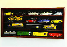 """O Scale Model Train Car Display Case Rack Holder Box *Holds Up To 16 Trains"""""""