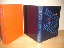 BRAVE NEW WORLD Aldous Huxley LIMITED EDITIONS CLUB signed LTD ED sci-fi