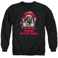Rocky Horror Picture Show Casting Throne Mens Crew Neck Sweatshirt Black
