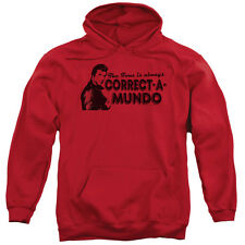 Happy Days Correct A Mundo Mens Pullover Hoodie