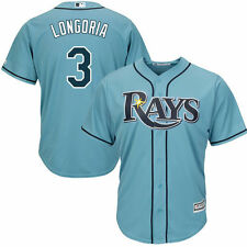 Evan Longoria Tampa Bay Rays Majestic Cool Base Player Jersey - MLB