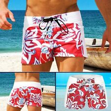 Mens Flower Board Shorts Swimming Trunks Beach Sports Boxers Pants Swimwear S-XL