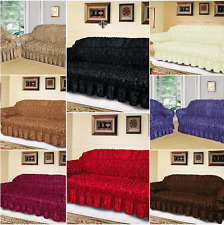 lovely Large Jacquard Sofa Covers for 1, 2&3 seater sofa/Alternate to Sofa Throw