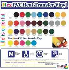 """HTV PVC (NOT STICKY) FOR T-SHIRT 20""""X5YARDS. COMMERCIAL KOREA QUALITY 100%"""