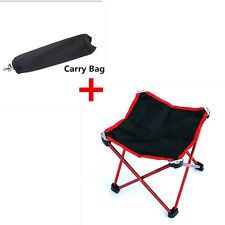 Outdoor Portable Folding Camping Hiking Fishing Picnic BBQ Stool Chair Seat