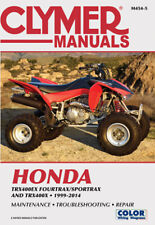 Clymer Repair Manual Honda TRX400EX FourTrax/SportTrax & TRX400X, 99-13 M454-5