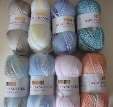 5 x 100g Hayfield Baby Changes Colour Phasing D/K Wool/Yarn for Knitting/Crochet