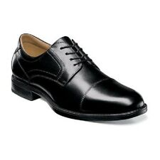 Florsheim shoes Midtown Cap Toe Oxford Black Casual Dressy Leather 12138-001 New