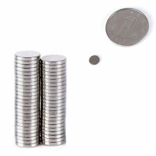 50-100Pcs Fridge Doors Round Disc Super Strong Magnet Neodymium N35/N50 All-Size