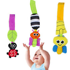 Hot Baby Rattles hanging Bee Wind chimes Infant Crib Stroller Toy Plush