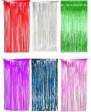 New Foil Door Curtain & Fringe Garlands Party Decoration Accessory