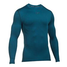 Under Armour ColdGear Mens Armour Compression Crew Long Sleeve Top - AW16 Twist
