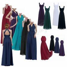 Women Formal Long Dress Ball Prom Gown Evening Party Cocktail Bridesmaid Wedding