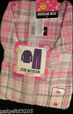 Joe Boxer 2-Piece Plaid Flannel Pajama Set / Sleepwear  - Pink
