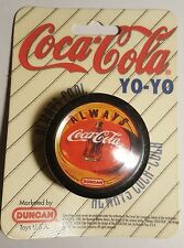 Vintage COKE 1997 DUNCAN Orange Always Coca Cola logo YoYo Toy