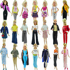 Pants Jeans Capris Mini Dress Skirt Shirt Outfit Clothes For Barbie Doll Clothes