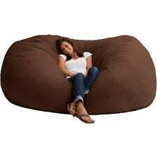 XXL 7 Fuf Comfort Suede Bean Bag, Multiple Colors