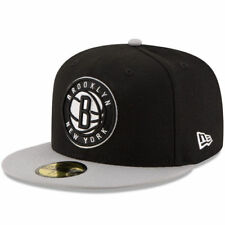 Brooklyn Nets New Era Official Team Color 2Tone 59FIFTY Fitted Hat - NBA