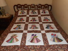 Fancy Sunbonnet Sue Quilt Top (homemade by me) 53x66 (Unfinished)